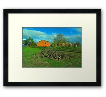 Old winery Framed Print