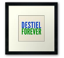 Ship Loyalty - Destiel by @I_am_the_Impala  on Twitter Framed Print