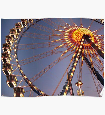 Riesenrad (Ferris Wheel) Poster