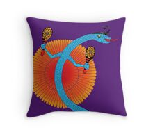 Snake, Rattle and Roll Throw Pillow