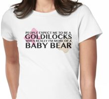 Goldilocks Womens Fitted T-Shirt