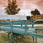 Baggage Cart, OERM, Perris CA by Larry3