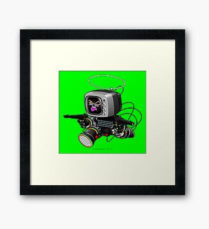 ZED HEX v1.6 Framed Print