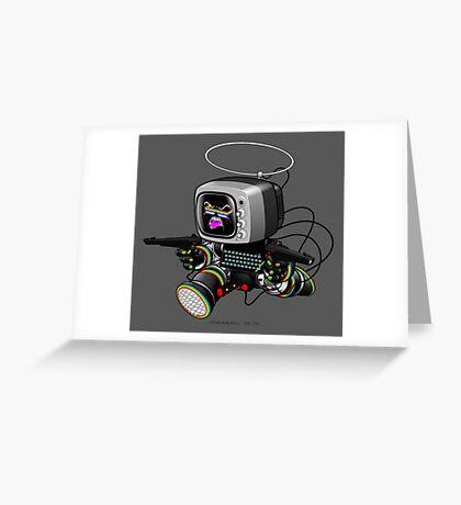 ZED HEX v1.5 Greeting Card