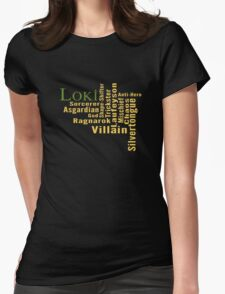 Who is Loki? Womens Fitted T-Shirt