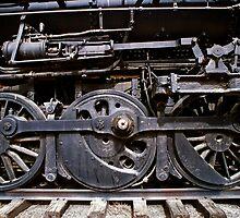 Trail Wheels In Black - Perris, CA by Larry Costales