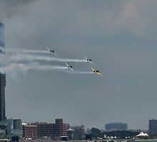 red bull air race 4 by Barry W  King