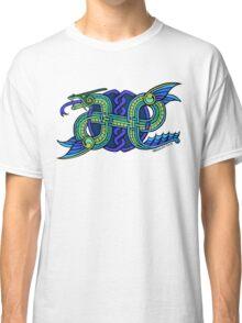 Knotwork Ogopogo Classic T-Shirt