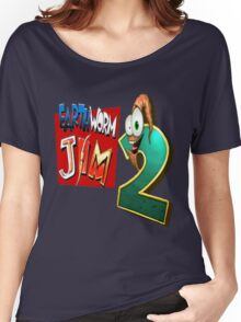 Earthworm Jim - EWJ2 Logo Women's Relaxed Fit T-Shirt