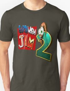 Earthworm Jim - EWJ2 Logo T-Shirt