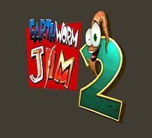 Earthworm Jim - EWJ2 Logo Unisex T-Shirt