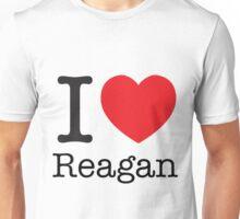 I LOVE Reagan Unisex T-Shirt