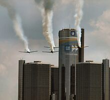 red bull air race 7 by Barry W  King