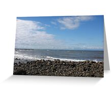 Blue Sky, Blue Ocean Greeting Card