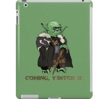 Yoda Stark iPad Case/Skin