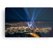 Articulated Intersect Over Hobart Metal Print