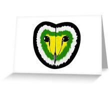 Skoliosexual pride owl Greeting Card