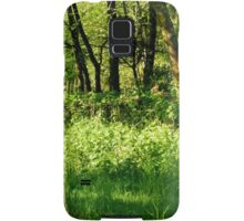 May Nettles in the Early Morning Sun Samsung Galaxy Case/Skin