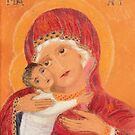 Byzantine Virgin and Child by Hilary Robinson