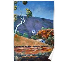 Windmill Alice Springs Poster