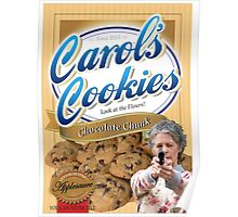 Famous Carol's Cookies Poster