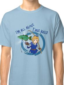All About That Bass - Link Blue Classic T-Shirt