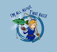 All About That Bass - Link Blue Unisex T-Shirt