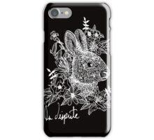 Rabbit Noir iPhone Case/Skin