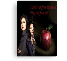 Regina Mills/Evil Queen Canvas Print