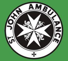 TARDIS St. John's Ambulance Logo (available as leggings!) Baby Tee