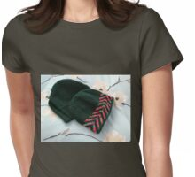 His and Hers - Woolly Hats Womens Fitted T-Shirt