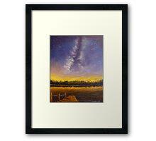 Star Lake Framed Print