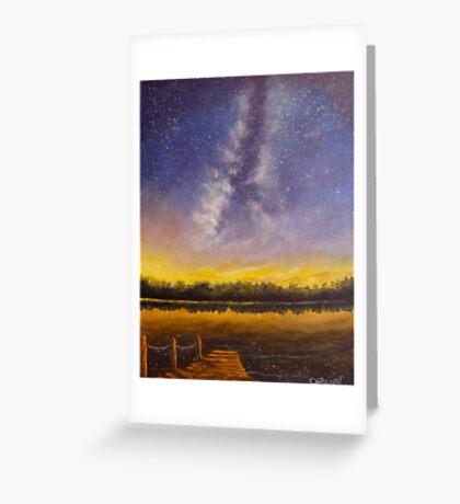 Star Lake Greeting Card