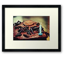 March 1, 1985 Framed Print