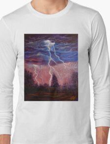 Thunder and lightning storm Long Sleeve T-Shirt