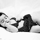 my model fell asleep by Angel Warda