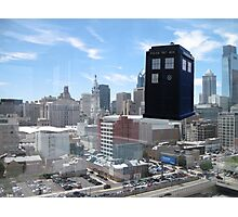 TARDIS Over Philly Photographic Print