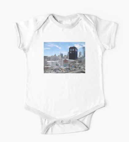 TARDIS Over Philly One Piece - Short Sleeve