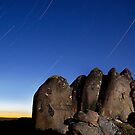 Mt. Wellington Star Trails by Alex Wise