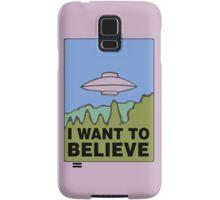 The Springfield Files Samsung Galaxy Case/Skin