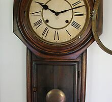 Victorian Wall clock by Maggie Hegarty