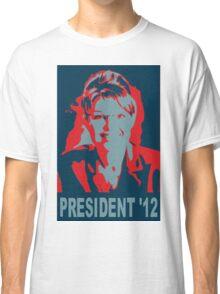 Sarah Palin President '12 Classic T-Shirt