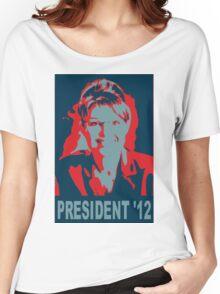 Sarah Palin President '12 Women's Relaxed Fit T-Shirt