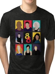 Sense8 Colors Tri-blend T-Shirt