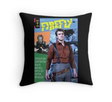 Firefly Vintage Comics Cover Throw Pillow