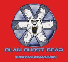 Ghost Bear Community Logo One Piece - Long Sleeve