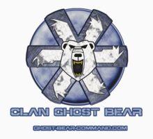 Ghost Bear Community Logo One Piece - Short Sleeve