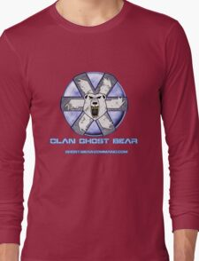 Ghost Bear Community Logo Long Sleeve T-Shirt