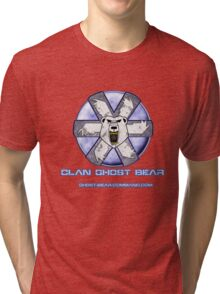Ghost Bear Community Logo Tri-blend T-Shirt
