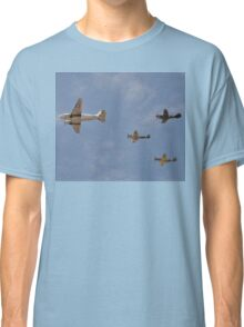 WW2 Formation Flypast, Point Cook Airshow, Australia 2014 Classic T-Shirt